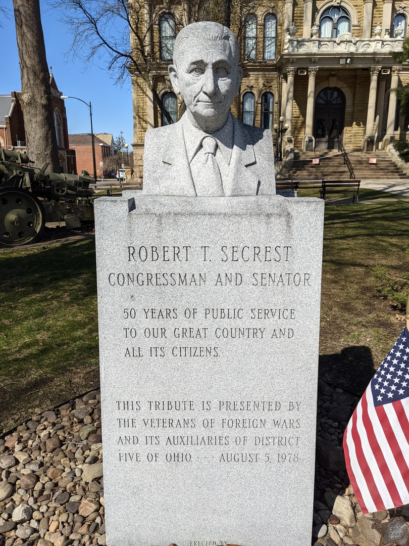 Robert T. Secrest- Full Front