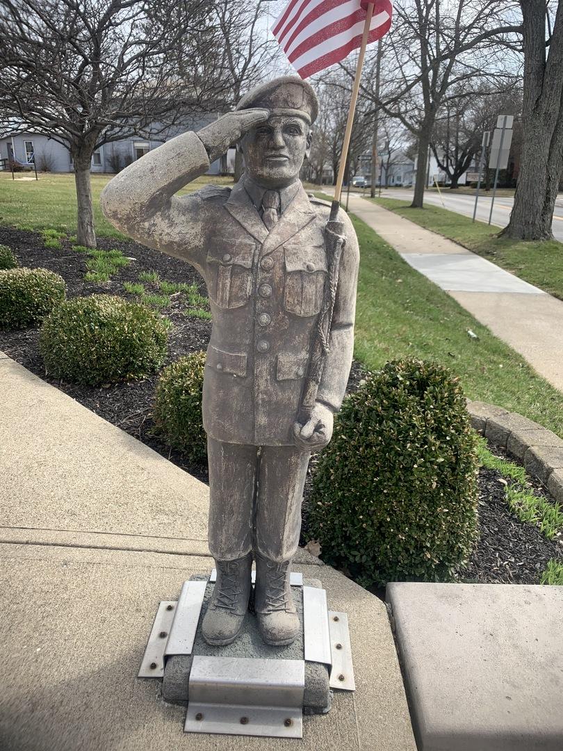 Morrow County Veterans Memorial Statue