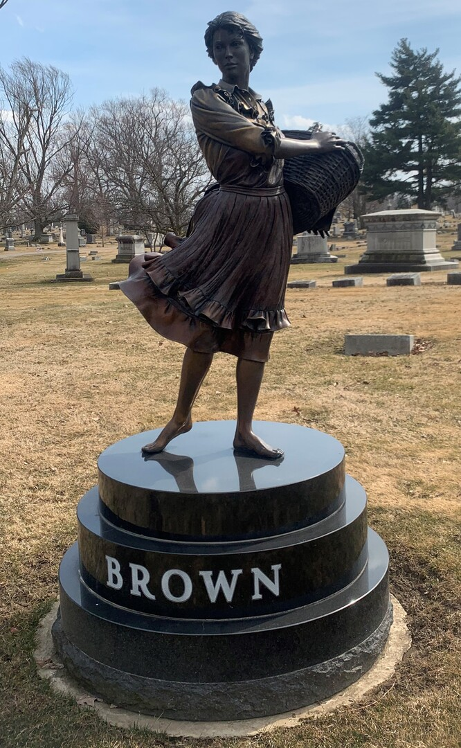 Brown Family Monument View 1