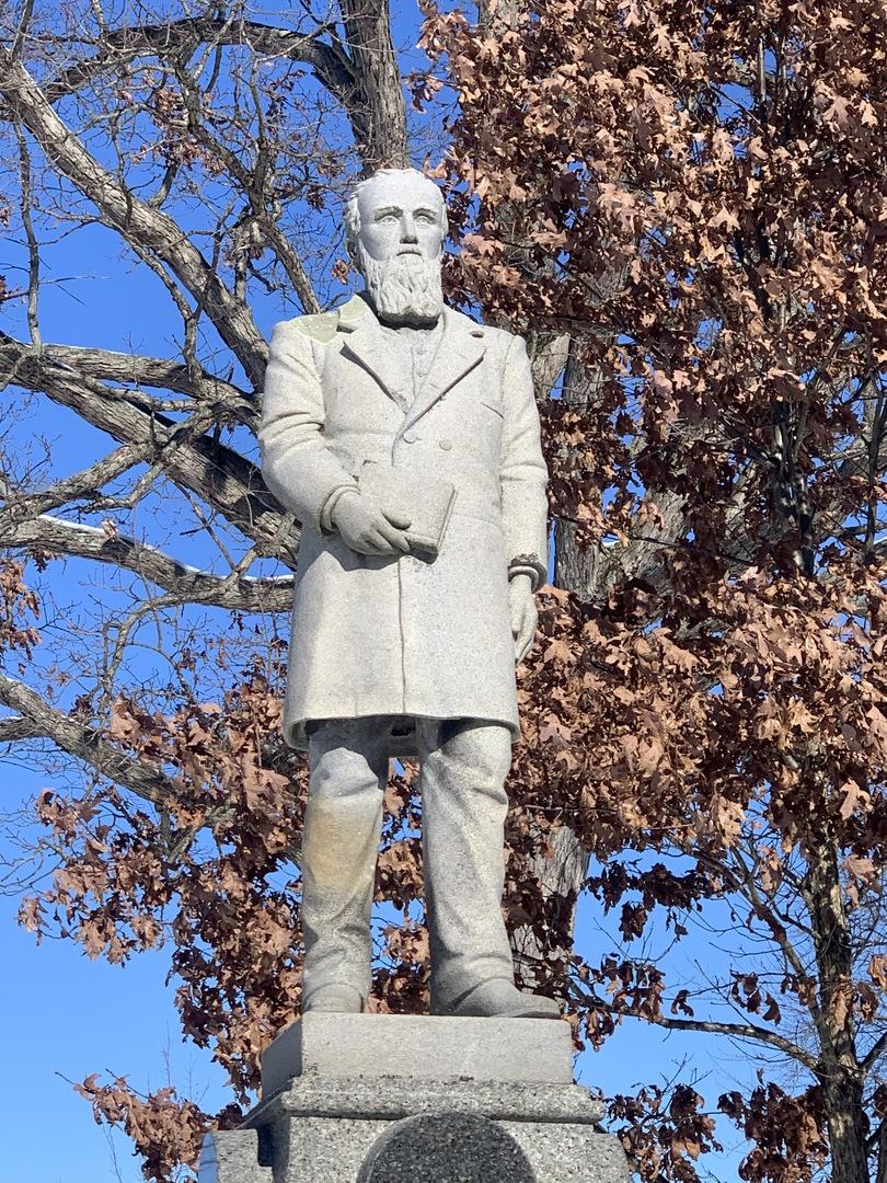 Statue of James D. Herd, Front
