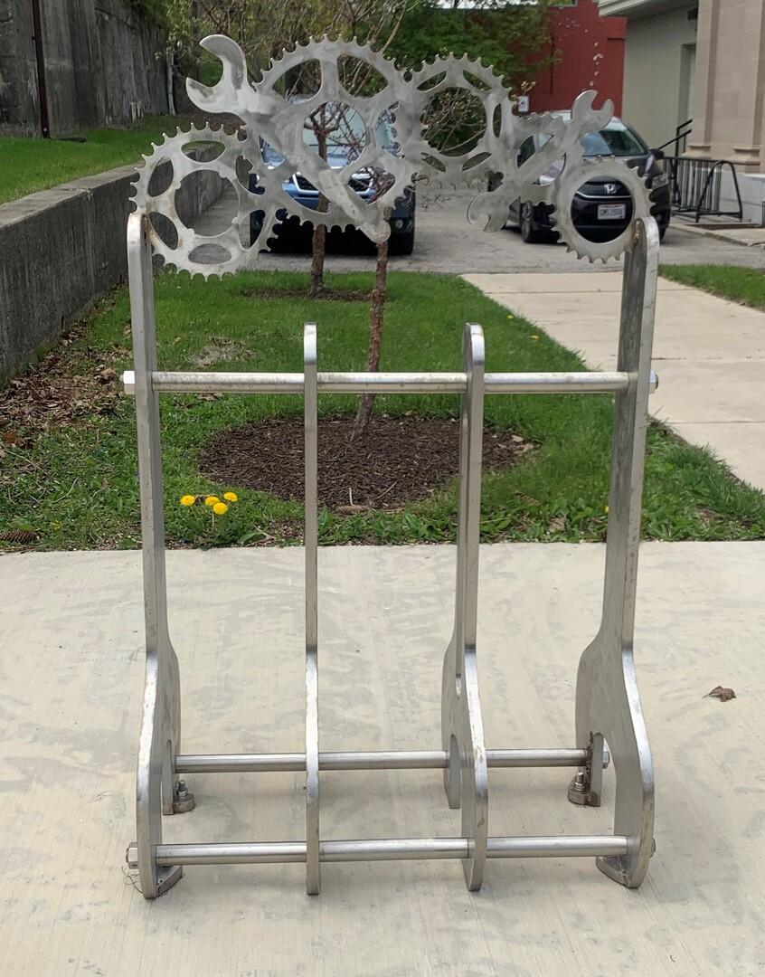 Bike Rack Front View