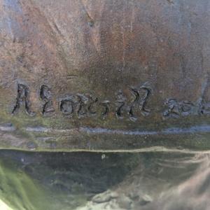 Coshocton Coal Miners Memorial- Sculpture Signature