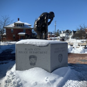 Union County Law Enforcement Memorial from Right