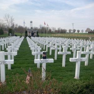 Ohio Fallen Heroes Memorial Crosses