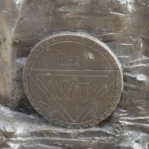 Hocking Valley Miner Plaque 3