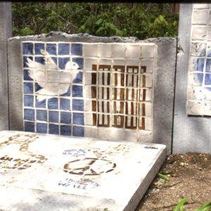 Hudson, Jon B. PEACE WALL & MOON GATE. Berlin Wall.jpg