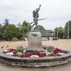Spirit of the American Doughboy of Fostoria Fountain Cemetery 5.jpg