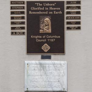 Unborn Children Monument of Fostoria Fountain Cemetery 5.jpg