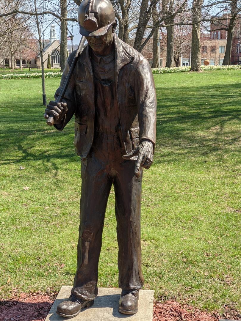 Coshocton Coal Miners Memorial- Sculpture