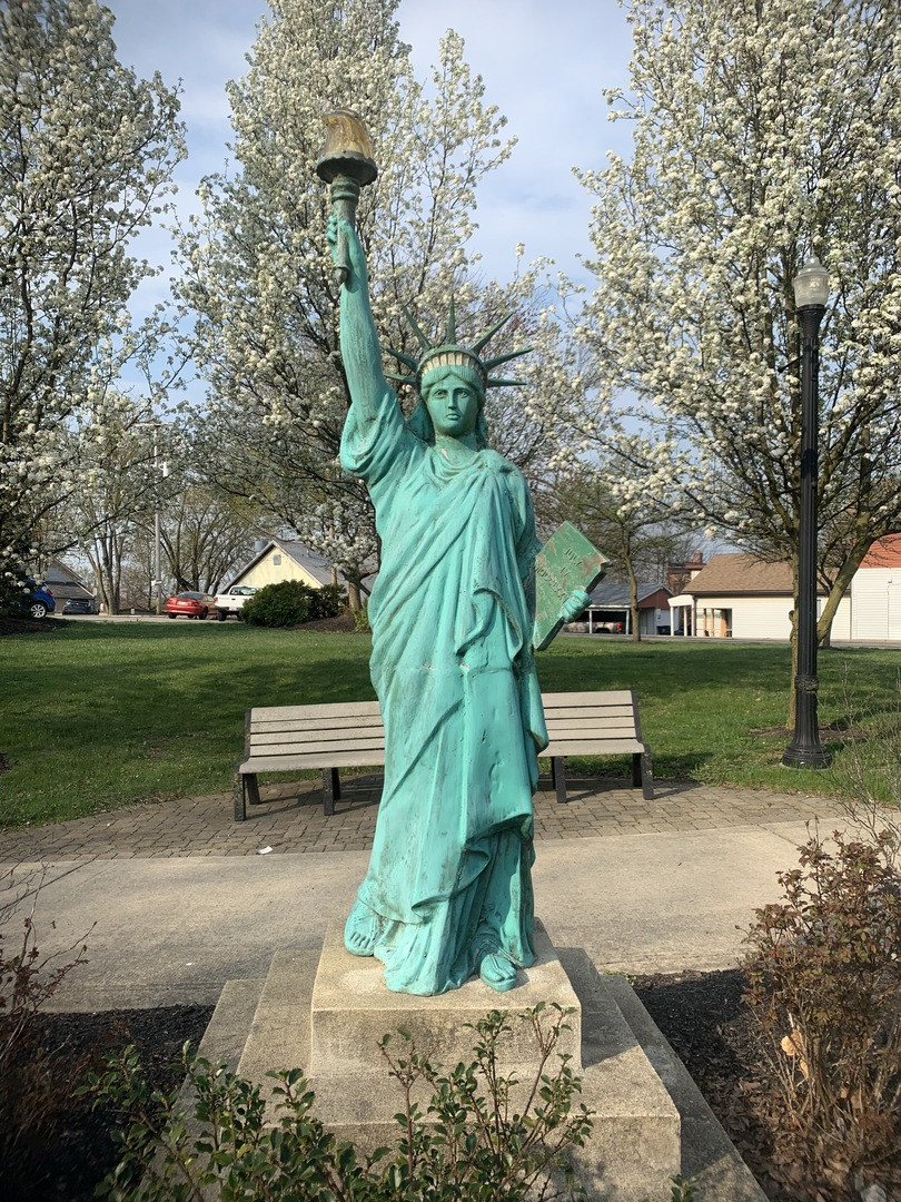 Statue of Liberty Replica Front View