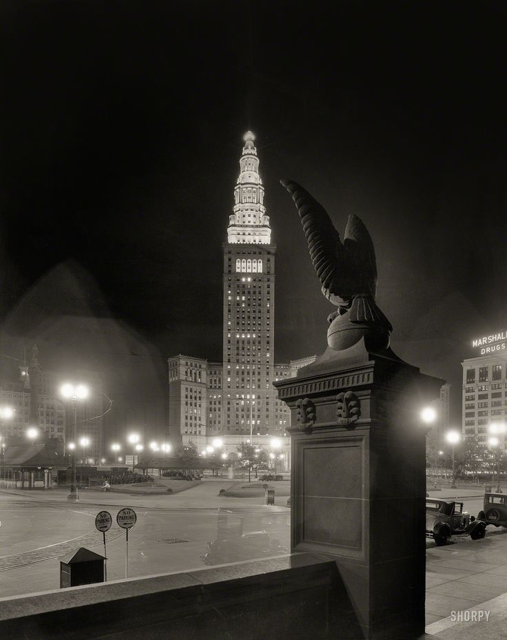 Rare Eagle perch image in 1931 (1).jpg