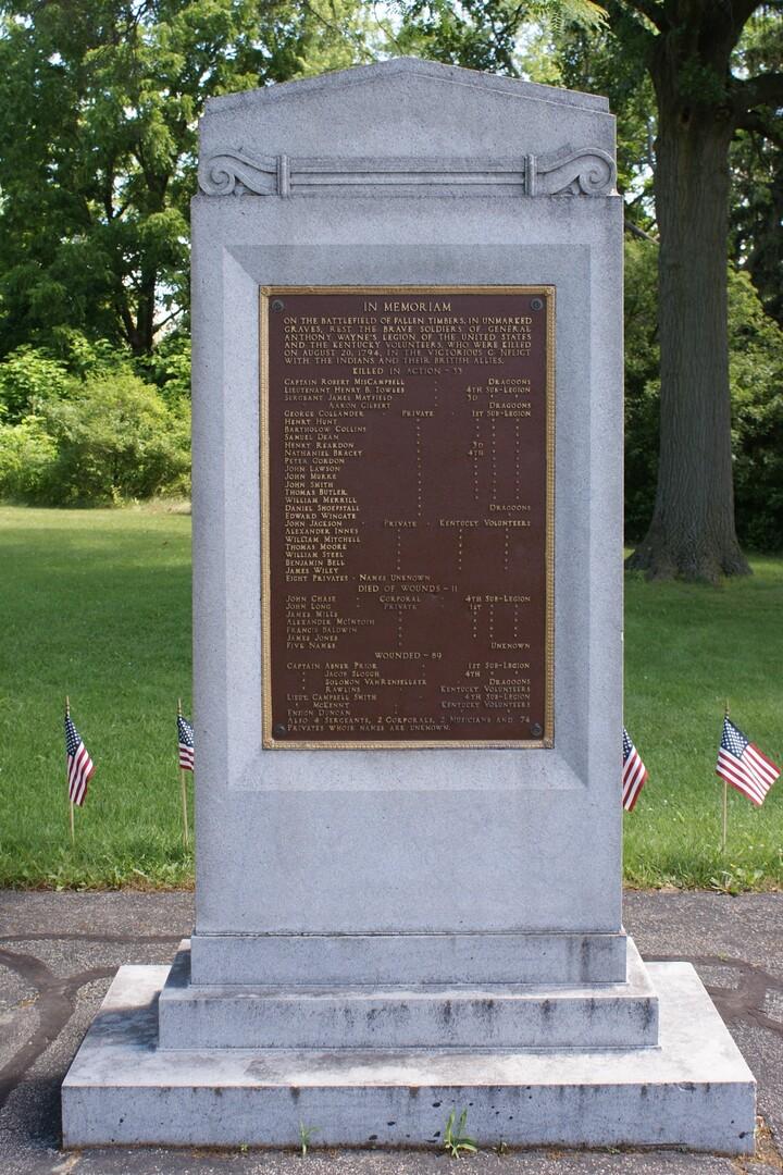 Fallen Timbers US Soldiers Memorial.JPG