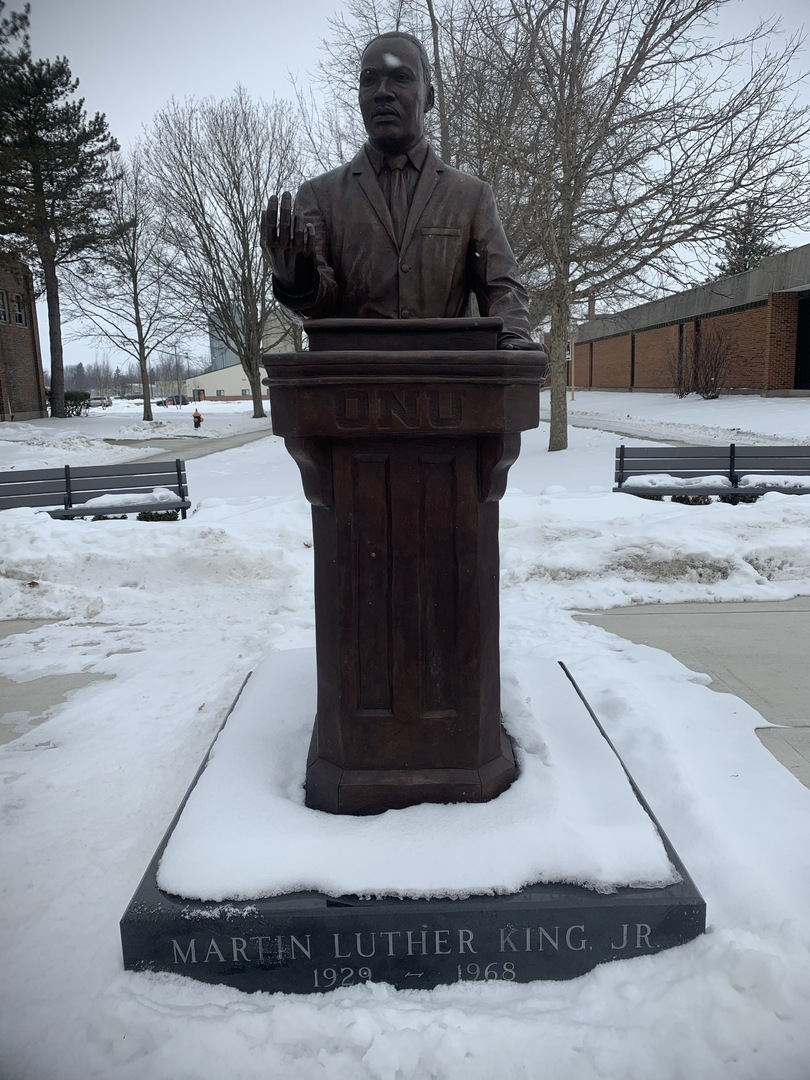 Dr. Martin Luther King, Jr. Front View