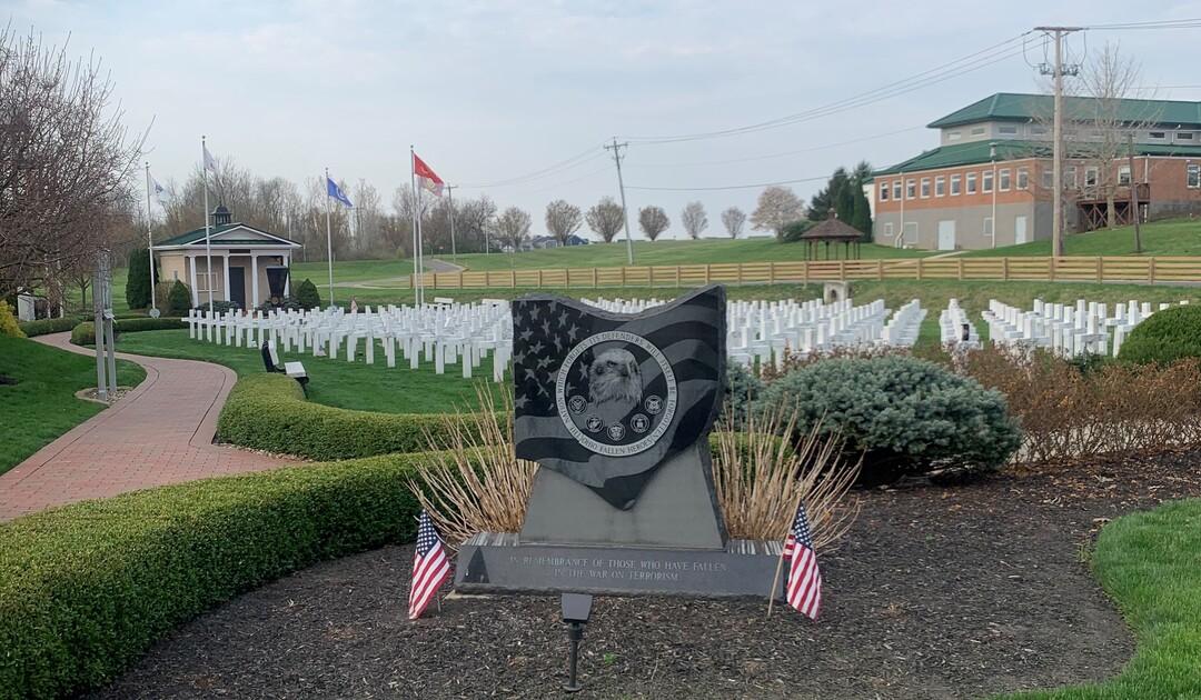 Ohio Fallen Heroes Memorial Front Monument