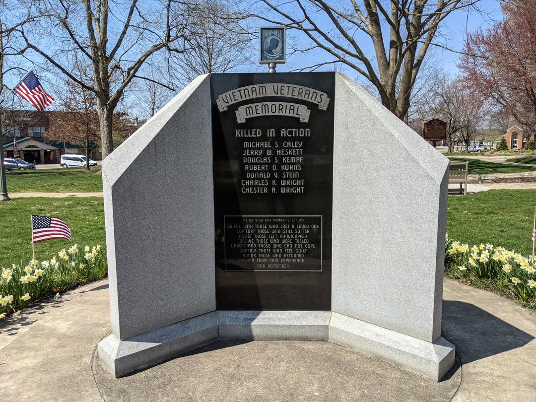 Coshocton County Vietnam Veterans Memorial