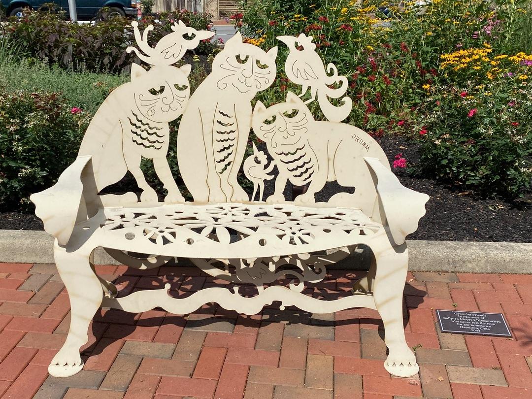 Kitty bench.jpeg
