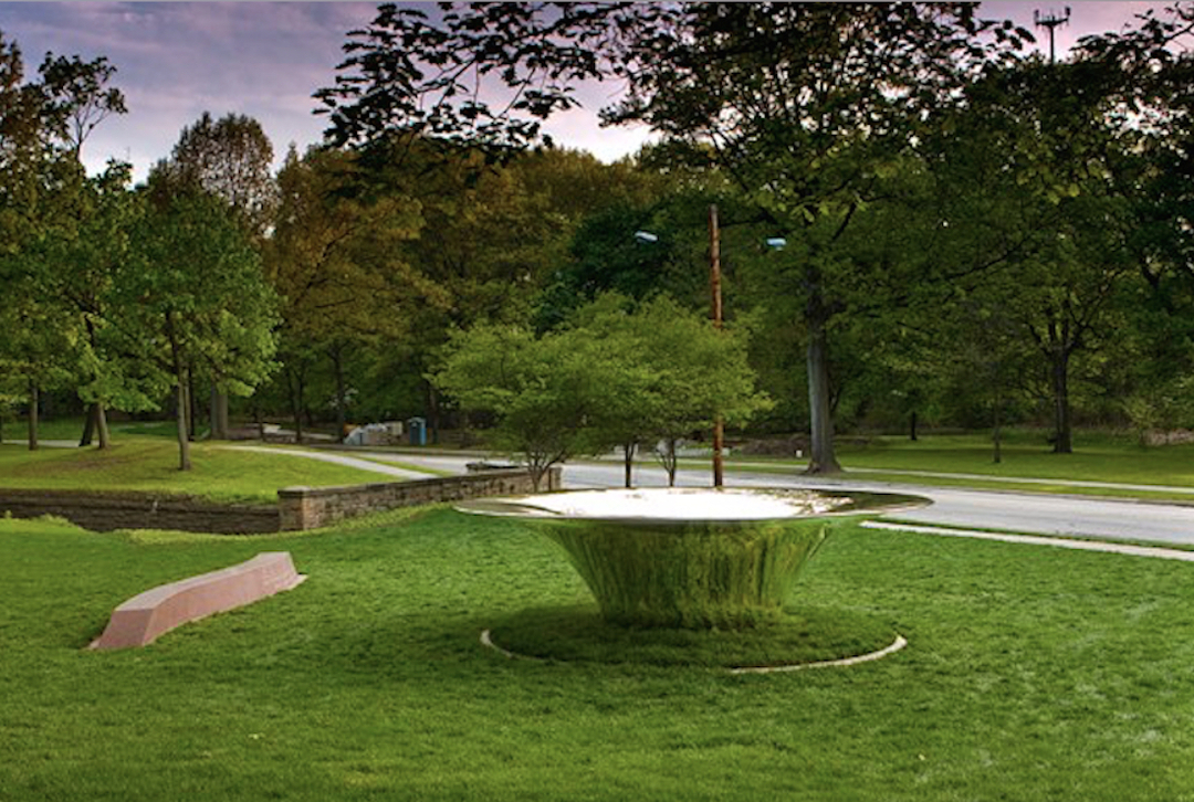 """""""Hearth"""" , Cleveland Cultural Gardens, OH mirror polished stainless steel (1).jpg"""