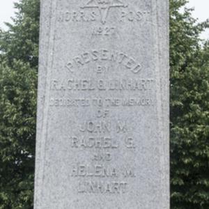 Civil War Memorial of Fostoria Fountain Cemetery 2.jpg