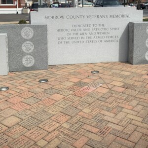 Morrow County Veterans Memorial Wall
