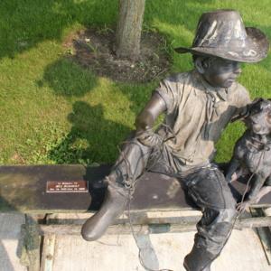 Boy and Dog plaque.JPG