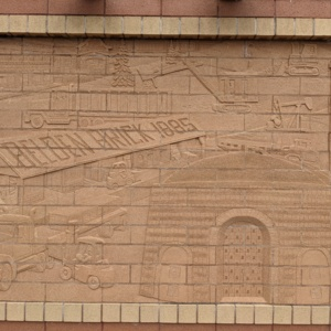 Brick Wall Sculpture 2