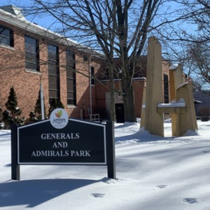 Generals and Admirals Park Monument View 3