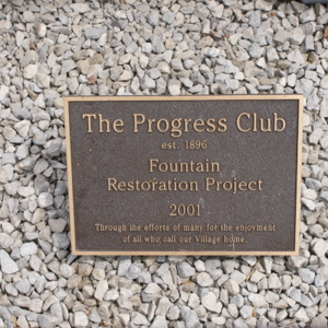 Loudonville Fountain Plaque.JPG