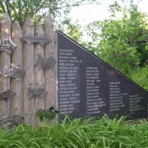 Hudson, Jon B. PEACE WALL & MOON GATE, stockade & Viet Vet~1.JPG