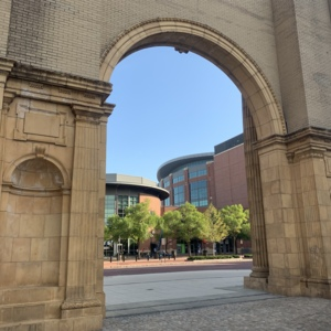 Union Station Arch Rear View