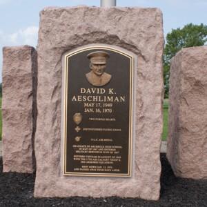 Aeschliman Memorial front.JPG