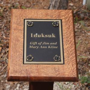 Inuksuk Gift Plaque.JPG