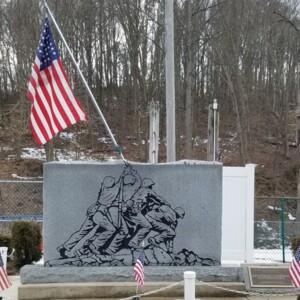 Front of Iwo Jima Memorial