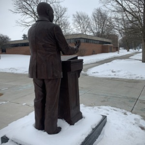 Dr. Martin Luther King, Jr. Back View