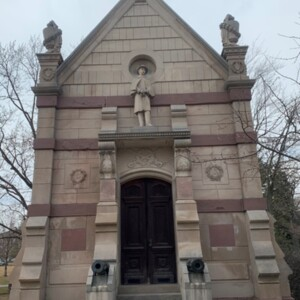 East Figure Full View, Soldiers and Sailors Memorial Chapel