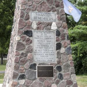 Spirit of the American Doughboy of Swanton Memorial Park 2.jpg