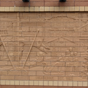 Brick Wall Sculpture 9