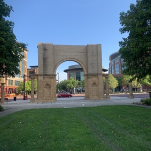 Union Station Arch Full Rear View