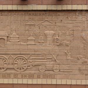 Brick Wall Sculpture 5