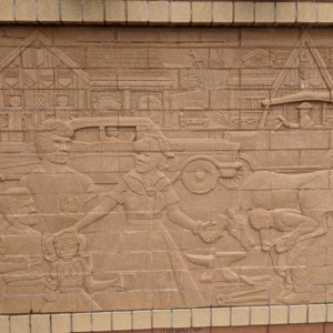 Brick wall Sculpture 1