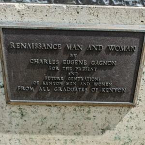 Renaissance Man and Woman- Plaque