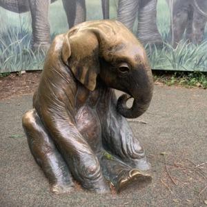 Elephant Child Right Side