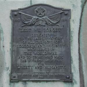 Spirit of the American Doughboy of Fostoria Fountain Cemetery 3.jpg
