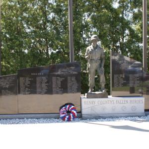 Henry Memorial Fallen Heroes.JPG