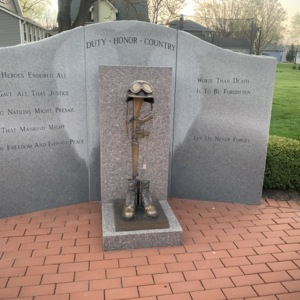 Ohio Fallen Heroes Memorial Bronze Sculpture