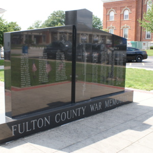 Fulton County War Memorial front.JPG