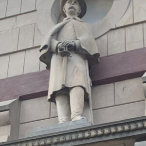 East Figure Soldiers and Sailors Memorial Chapel