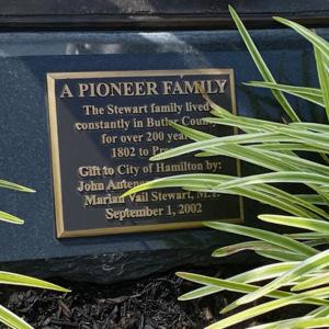 Pioneer family plaque.jpeg
