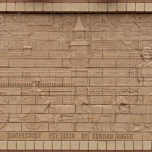 Brick Wall Sculpture 6