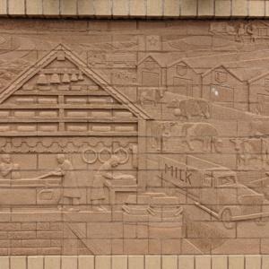 Brick Wall Sculpture 3