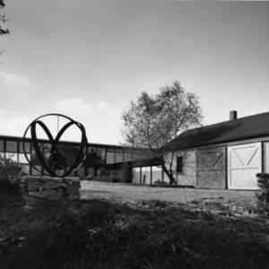 McVey Sculpture at his home.jpg